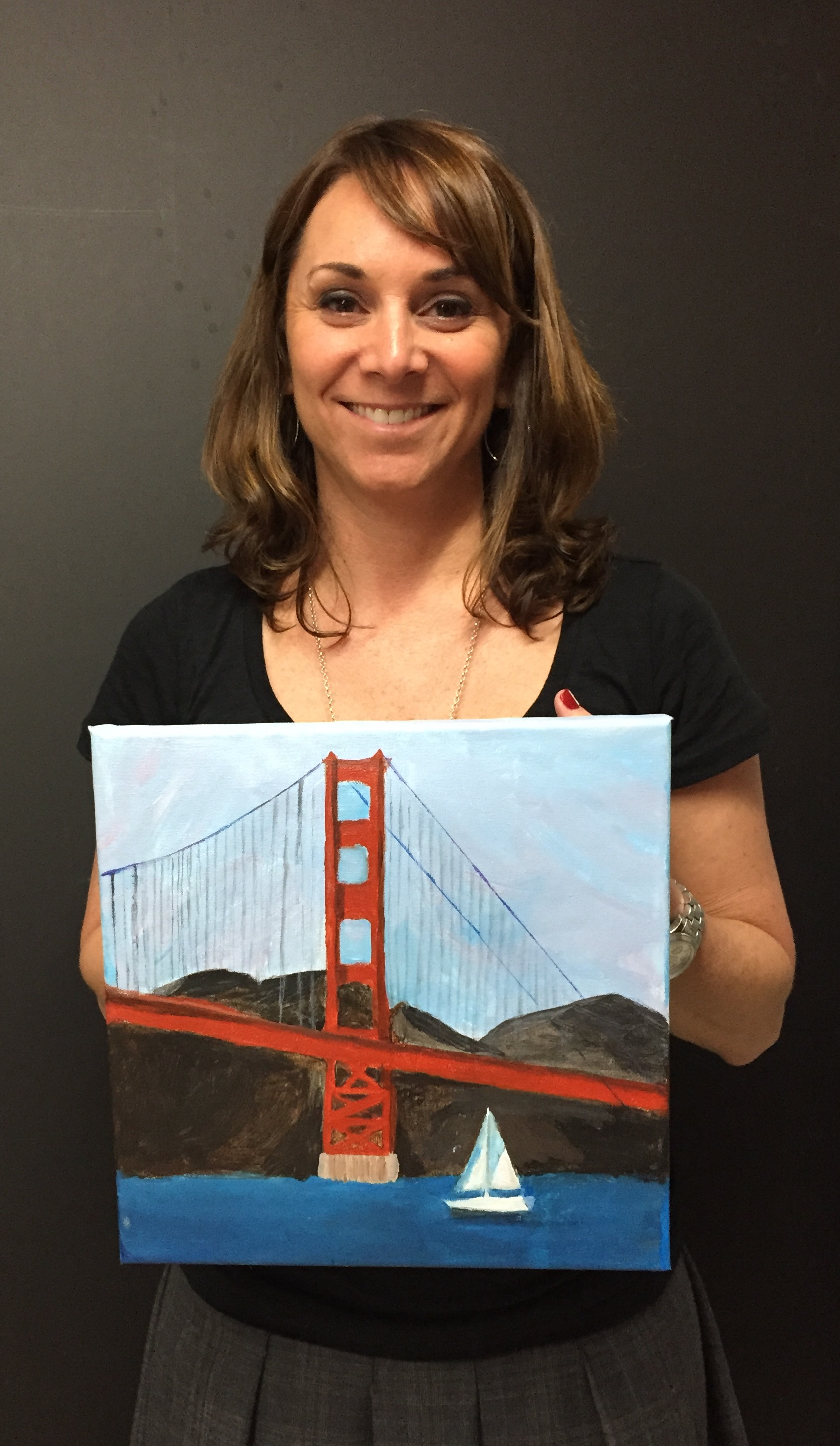 San Francisco painting for beginners