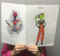 Sketching class for kids