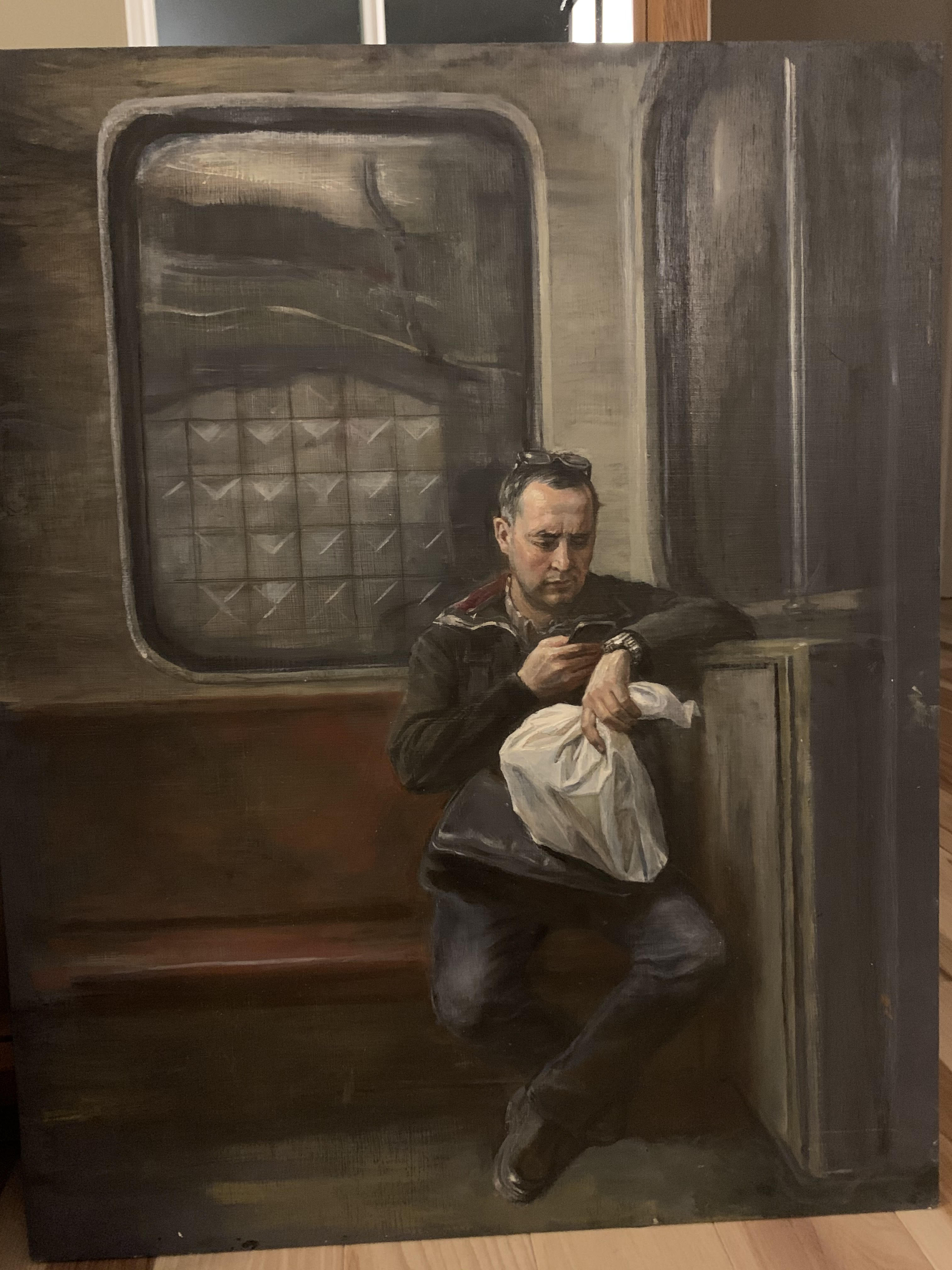 Old Masters - Man with a Bag