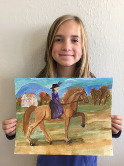 Horse Painting Birthday Party