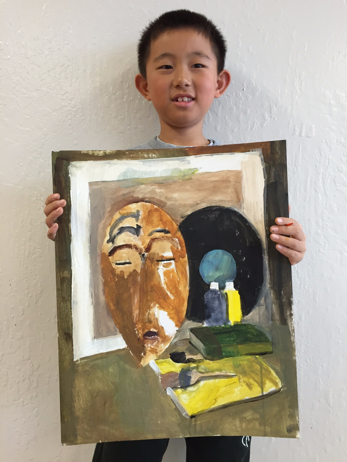Painting for kids 7 years old