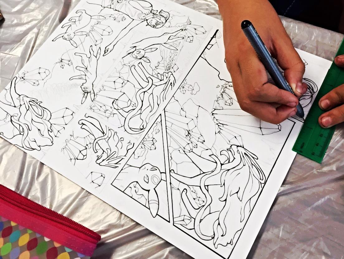 Manga Drawing Parties