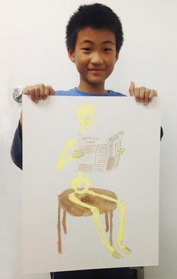 San Francisco kids Drawing studio