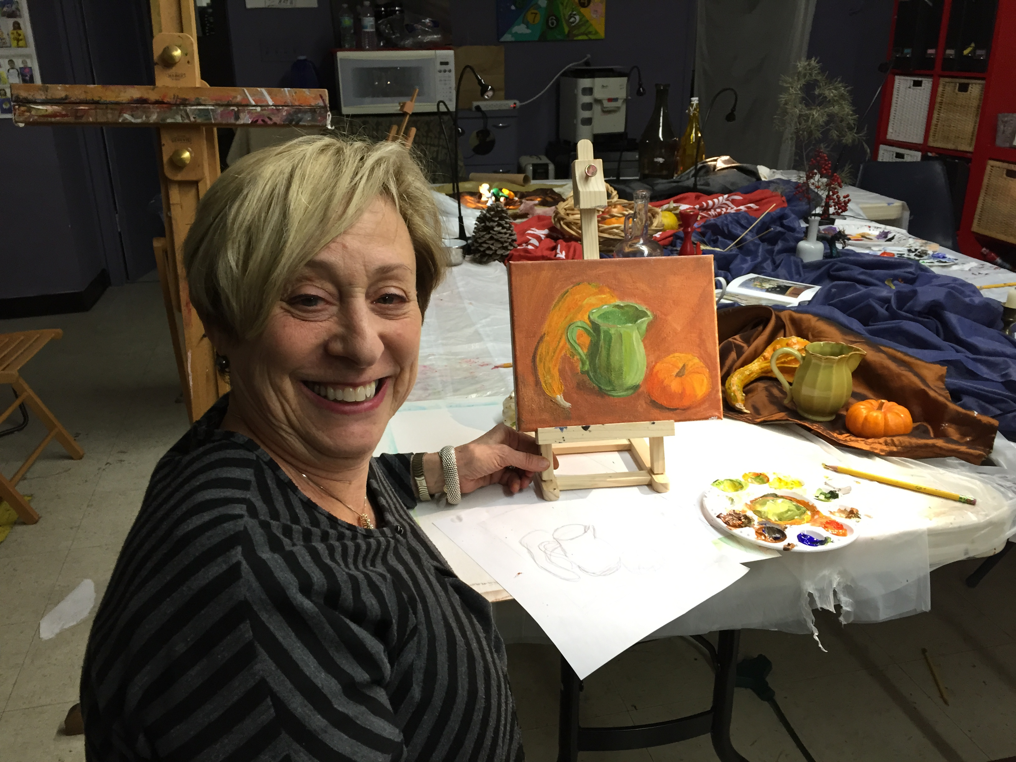 Rectreational painting class