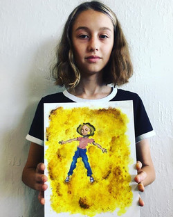 Creative self portrait by another Dasha_