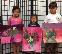 "Eloise, Chloe, Olivier ""Flowers"""