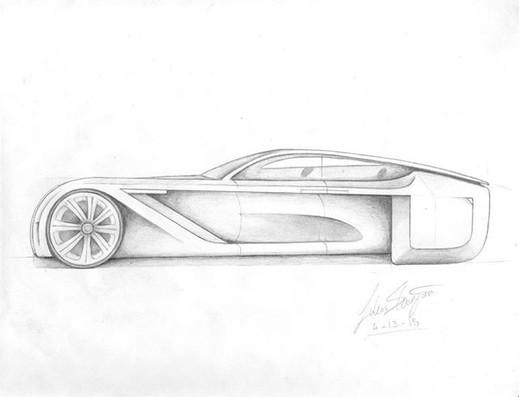 Futuristic car by Lukas K.jpg - side vie