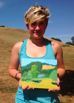 Outdoor Painting for Teens