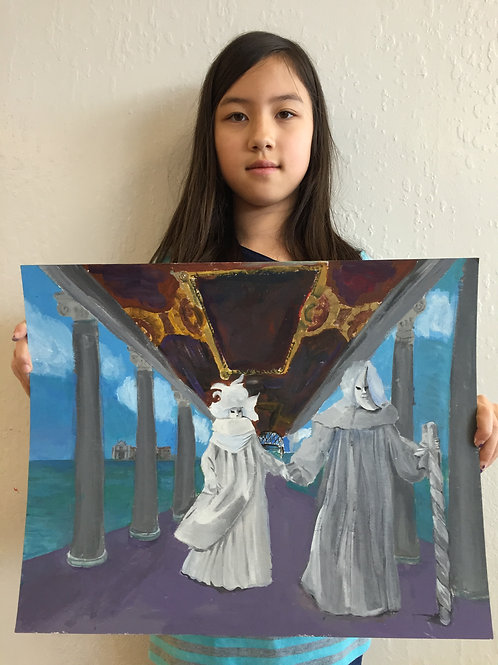 PAINTING WINTER (online, 8-14 yrs)