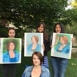 Intermediate Art Class for Adults