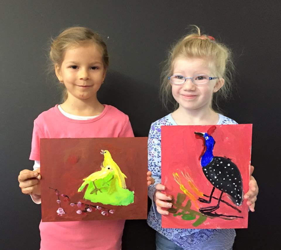 Painting art class for kids San Jose