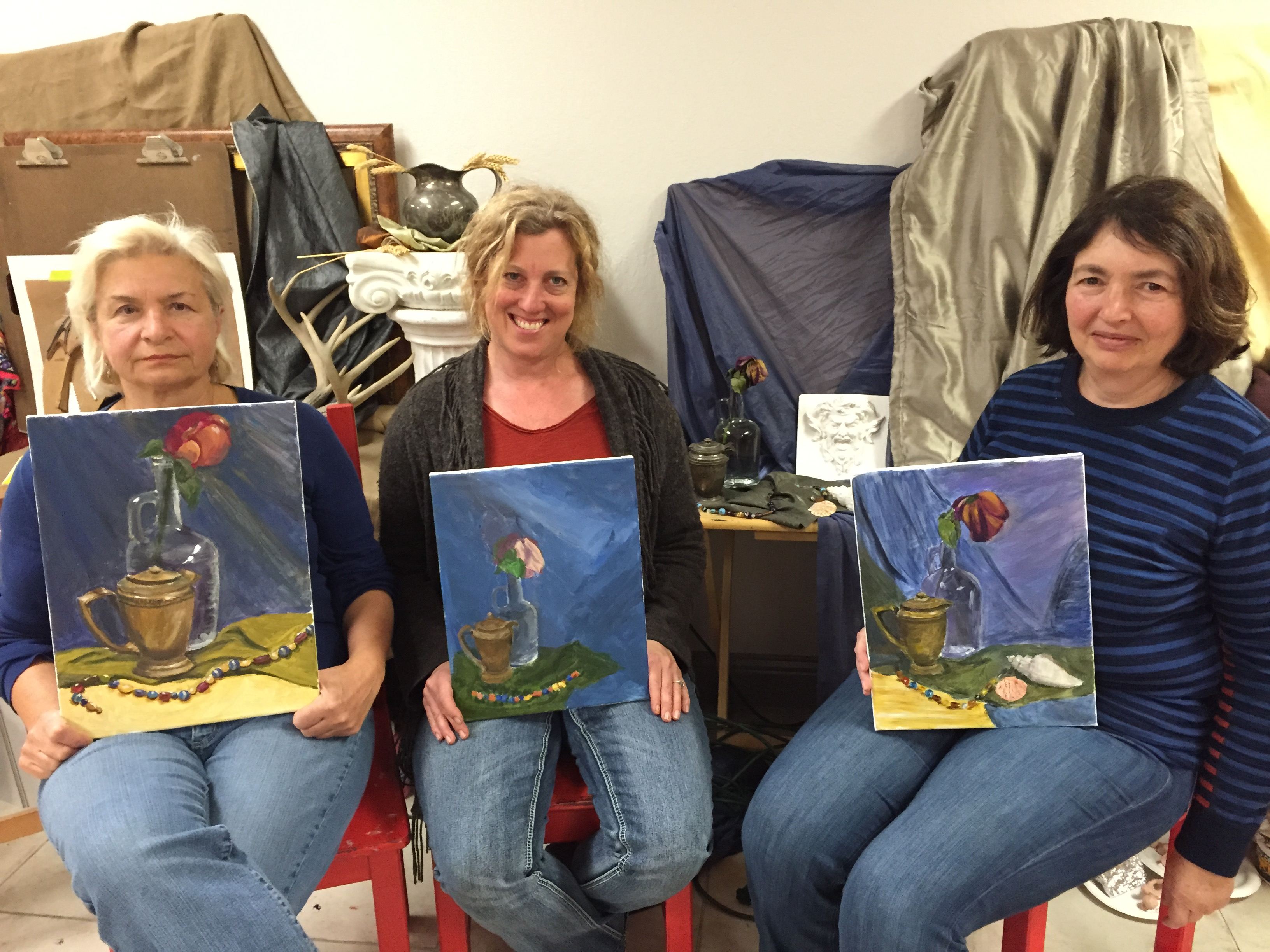 Adult Art Class in Mountain View