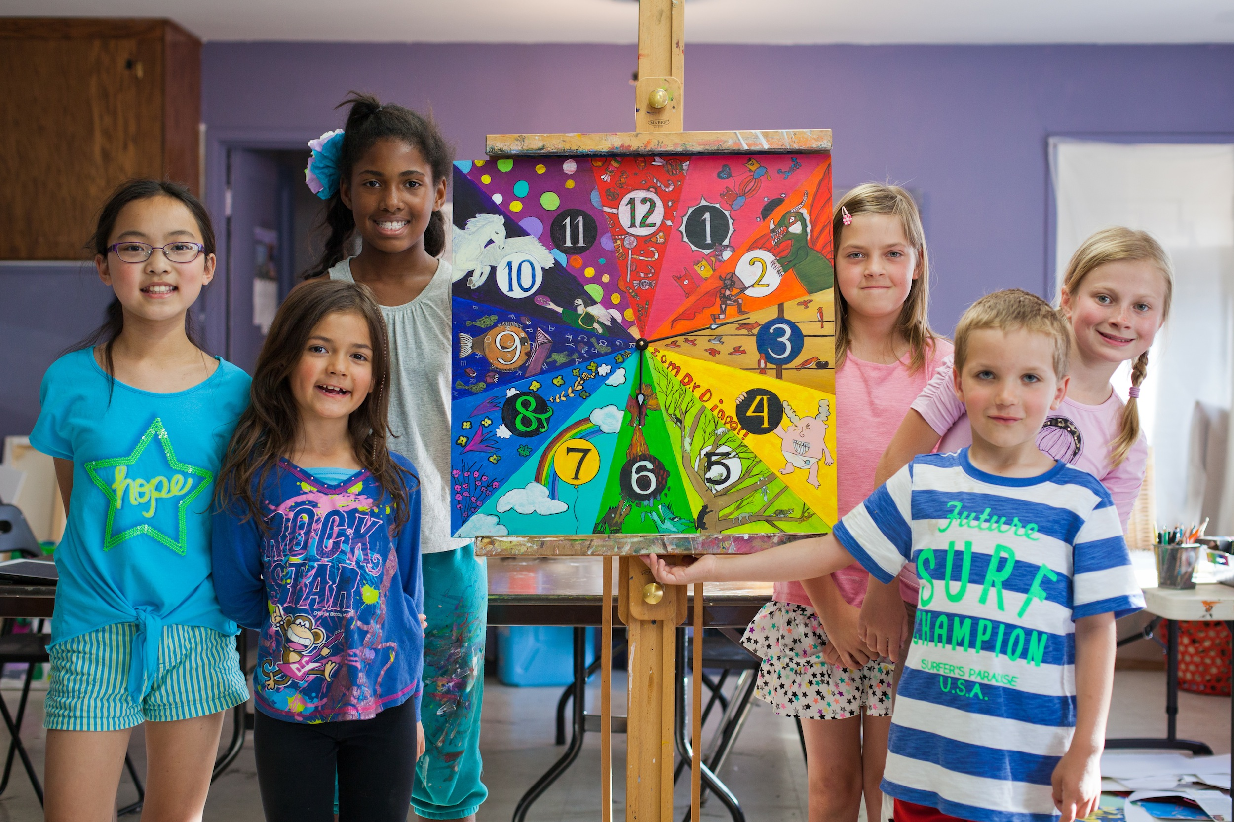 Art classes for kids San Jose