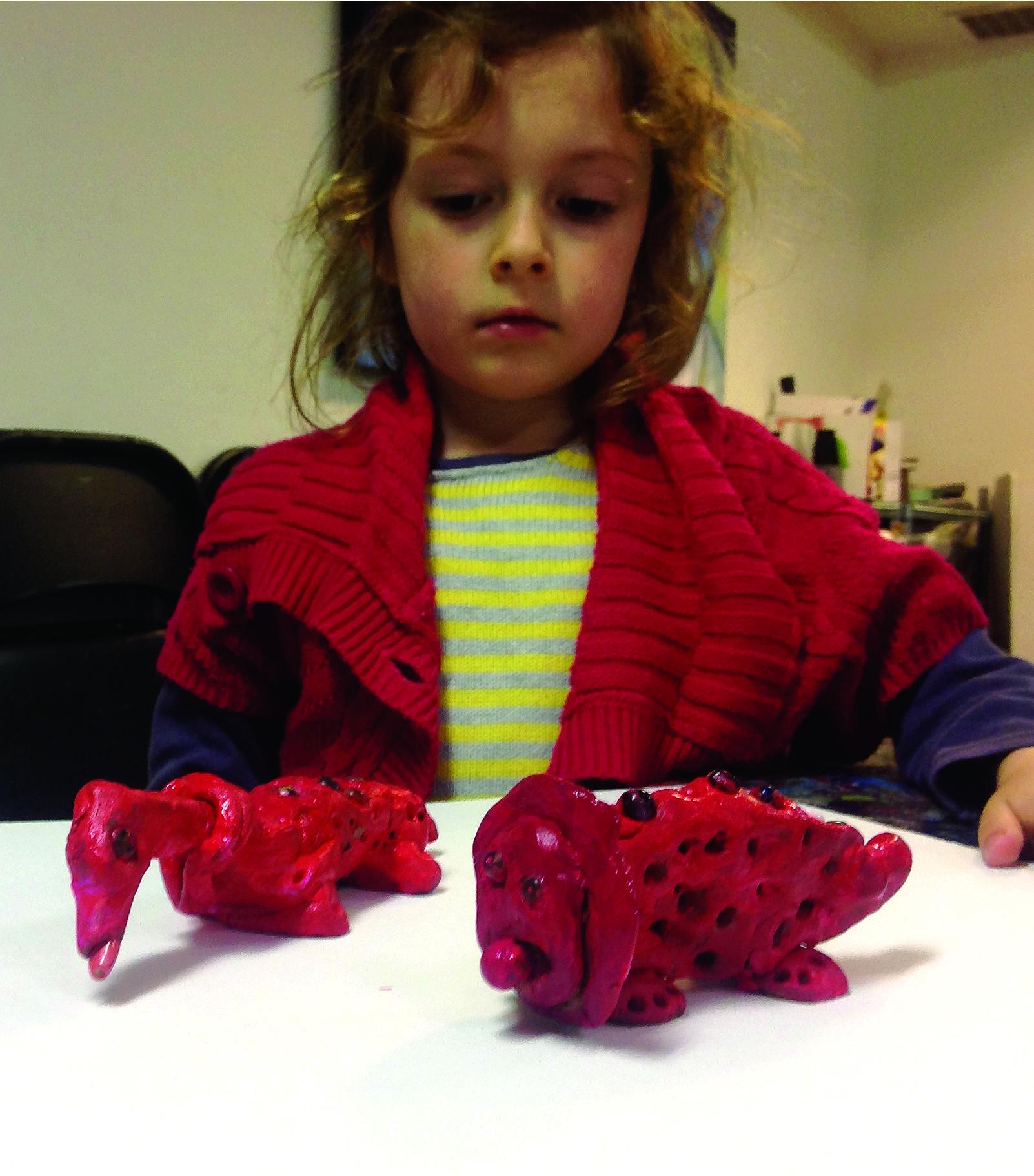 Sculpting Art Class for little kids