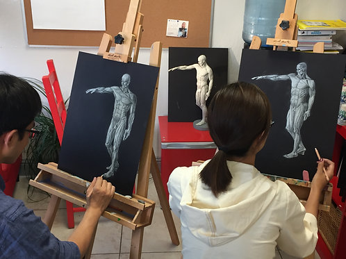 Advanced Adult Art Course