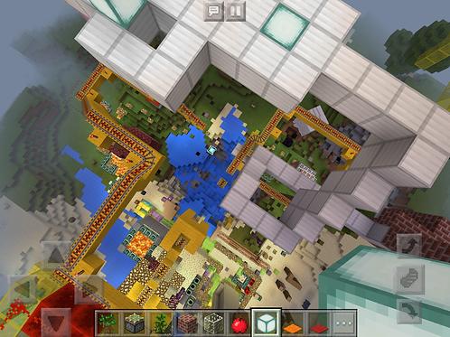 Art + Minecraft (MV, 6-10 yrs)