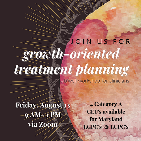 CEU's for Growth-Oriented Treatment Planning