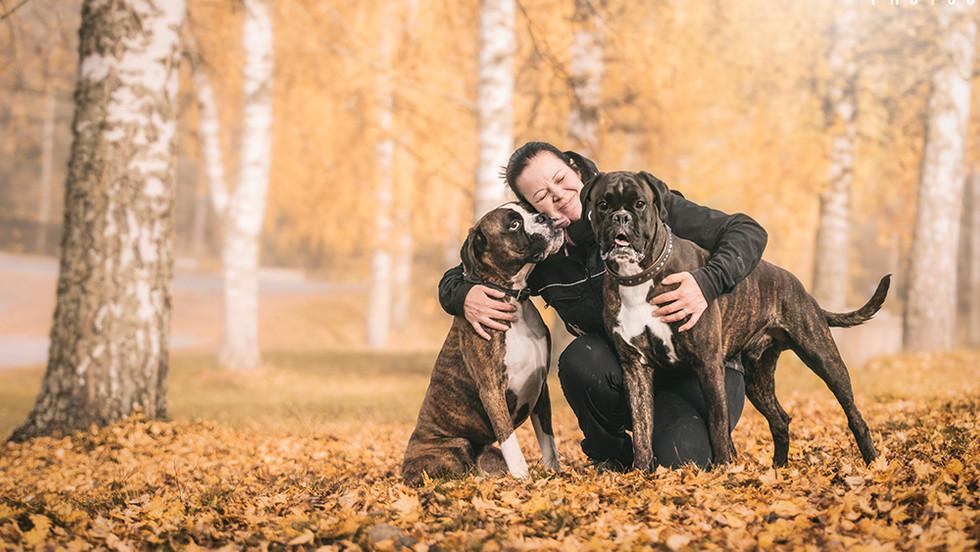 Tanja, Lemmy & Bruce