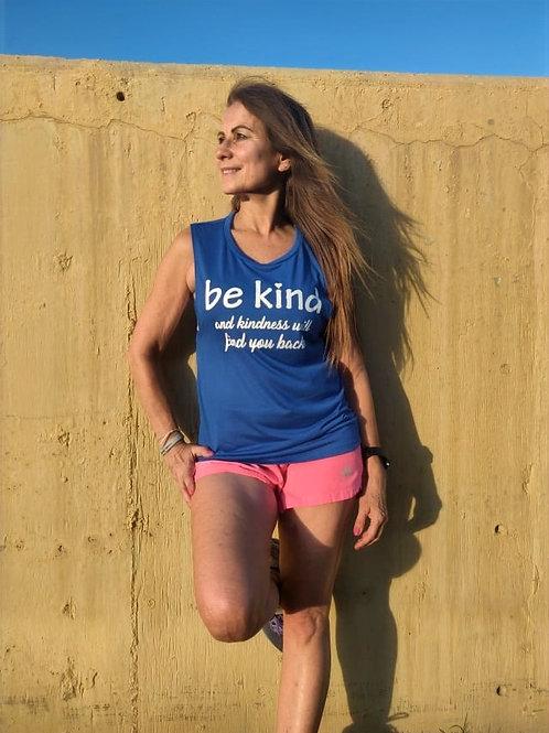 Be Kind Flowy Scoop Muscle Tank