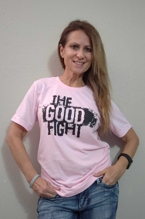 The Good Fight (Breast Cancer Awareness) Unisex Triblend Tee
