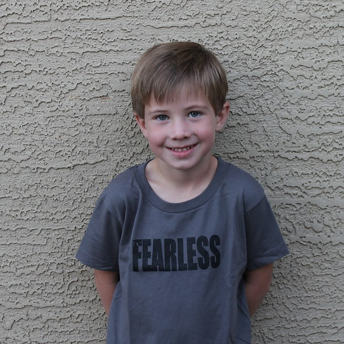 Be Fearless Toddler Tee