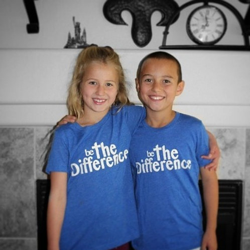 Be The Difference Youth Triblend Tee