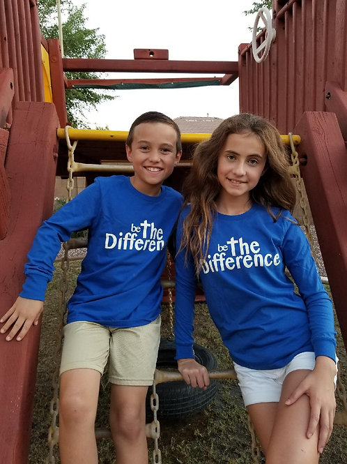 Be The Difference Youth Long Sleeve