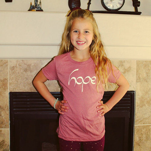Hope Youth Triblend Tee