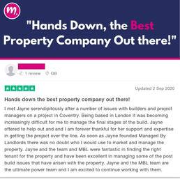 Hands Down Best Property Company!