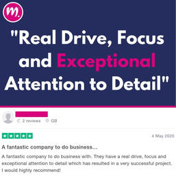 Real Drive, Focus and Eye for Detail