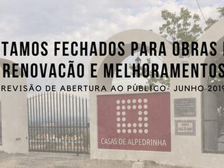 CASAS DE ALPEDRINHA 2019