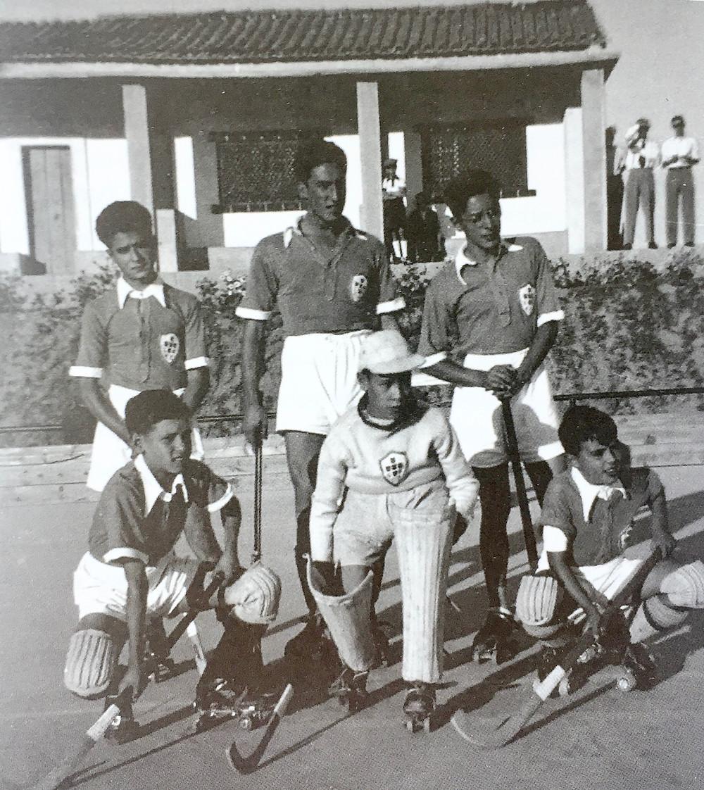 Equipa do Sintra da Beira Hóquei Clube de Alpedrinha