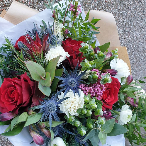 THREE MONTHLY SUBSCRIPTION - BOUQUET