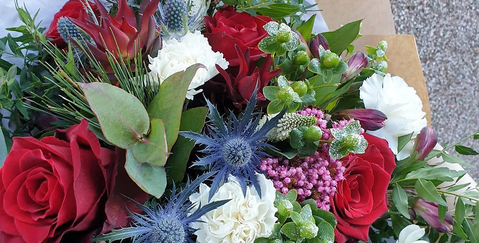Three monthly subscription - standard bouquet