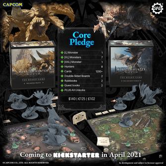 Monster Hunter - Kickstarter Pledge