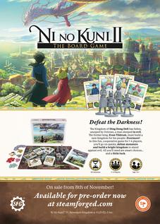 Ni No Kuni Board Game Promotion 201