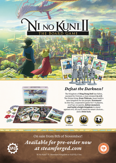 Ni No Kuni Board Game Promotion 201
