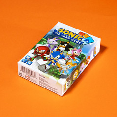 Sonic The Card Game - Front Box