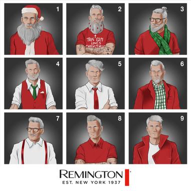 Remington - Christmas Post