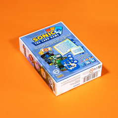 Sonic The Card Game - Back Box