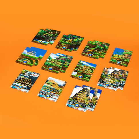 Sonic The Card Game - Levels