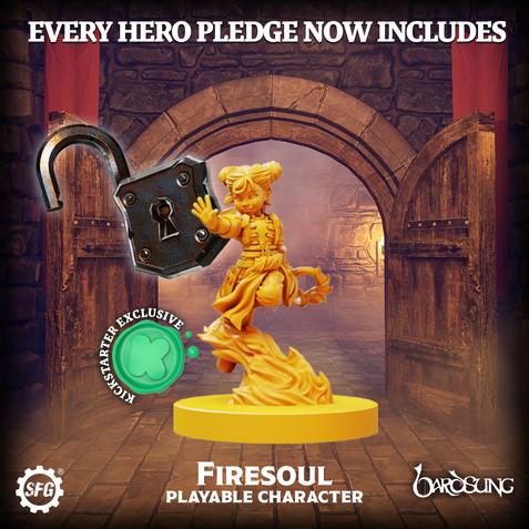 Bardsung - Kickstarter Pledge
