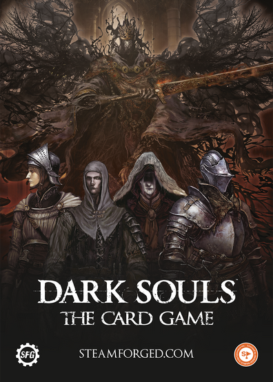 Dark Souls the Card Game Promotional Poster 2019