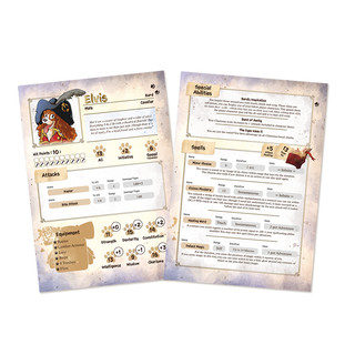 Character Sheet - Elvis