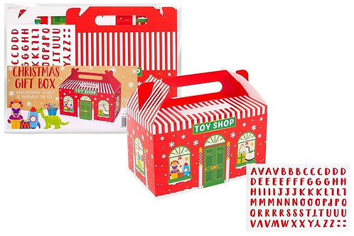 Large toy shop gift box
