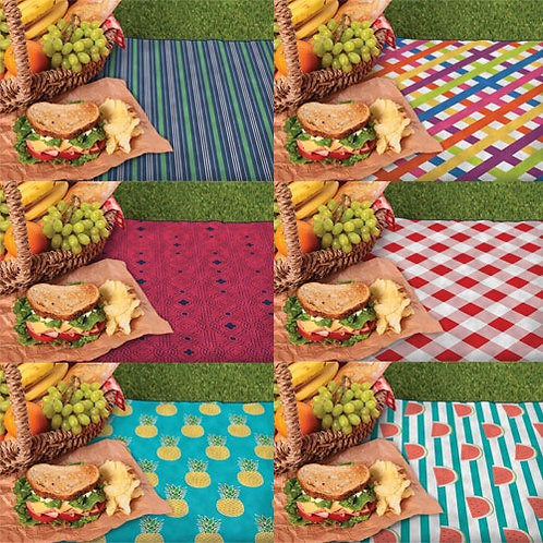 Large picnic blanket in carry bag