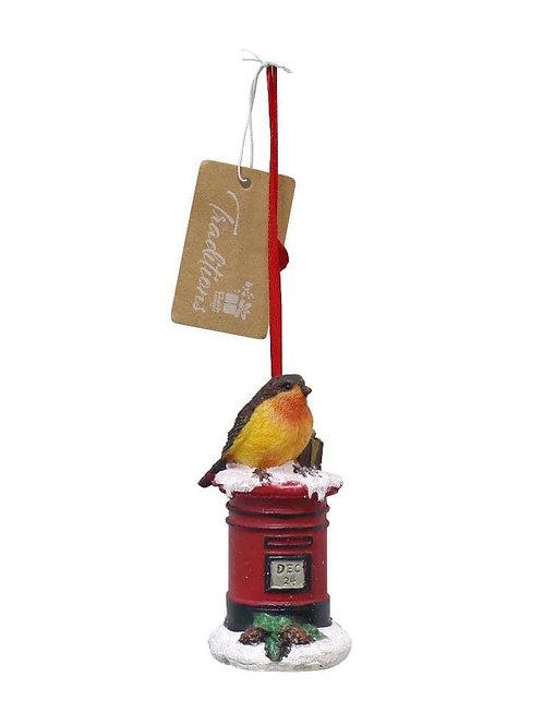 Robin tree decoration