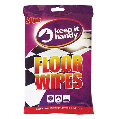Floor wipes