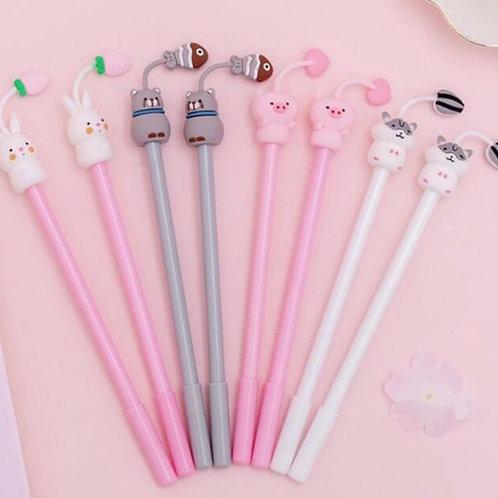 Set of 4 writing pens