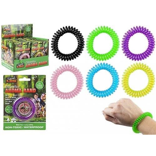 Insect repellent band